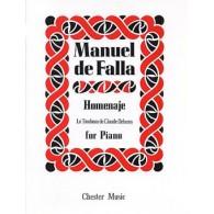 DE FALLA M. LE TOMBEAU DE DEBUSSY PIANO