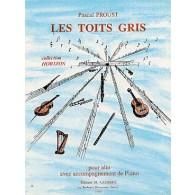 PROUST P. LES TOITS GRIS ALTO