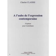 CLAISSE C. A L'AUBE DE L'EXPRESSION CONTEMPORAINE CONTREBASSE