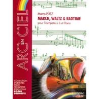 PUTZ M. MARCH WALTZ RAGTIME TROMPETTE