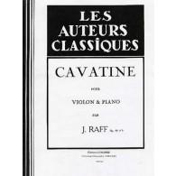 RAFF J. CAVATINE VIOLON