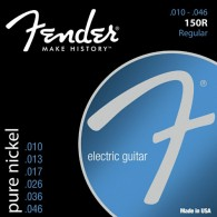 JEU DE CORDES GUITARE FENDER PURE NICKEL 150R REGULAR 10/46