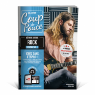 ROUX D. COUP DE POUCE ROCK VOL 1 GUITARE ELECTRIQUE