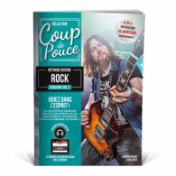 ROUX D./MIQUEU L. COUP DE POUCE DEBUTANT GUITARE ROCK  VOL 2