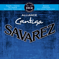 JEU DE CORDES GUITARE CLASSIQUE SAVAREZ 510-AJ