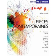 LECOQ I. PIECES CONTEMPORAINES ALTO SOLO