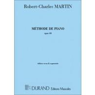 MARTIN R.C. METHODE DE PIANO