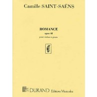 SAINT-SAENS C. ROMANCE OP 48 VIOLON