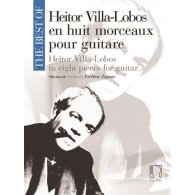 VILLA-LOBOS H. THE BEST OF MORCEAUX GUITARE