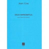 CRAS J. 2 IMPROMPTUS HARPE OU PIANO