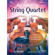 POP BALLADS FOR STRING QUARTET