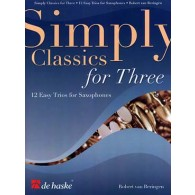 SIMPLY CLASSICS FOR THREE SAXOPHONES