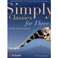 SIMPLY CLASSICS FOR THREE CLARINETTES