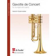 SUTERMEISTER H. GAVOTTE DE CONCERT TROMPETTE