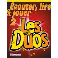 ECOUTER LIRE JOUER LES DUOS VOL 2 TROMBONES