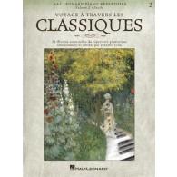 VOYAGE A TRAVERS LES CLASSIQUES VOL 2 PIANO