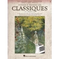 VOYAGE A TRAVERS LES CLASSIQUES VOL 3 PIANO