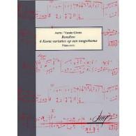 VANDE GINSTE S./AERTS H. 6 KORTE VARIATIES RONDINO PIANO