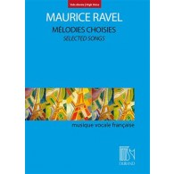 RAVEL M. MELODIES CHOISIES VOIX HAUTE