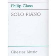 GLASS P. SOLO PIANO