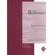 BONNARD A. ELEGIE AMOUREUSE OP 45 HARPE ET GUITARE