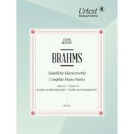 BRAHMS J. COMPLETE PIANO WORKS VOL 3