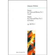 BRAHMS J. SONATE N°2 OP 120 ALTO