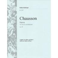 CHAUSSON E. POEME VIOLON