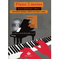 PIANO 2 MAINS 9 THEMES CELEBRES POUR PIANO