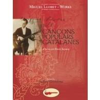 LLOBET M. CANCONS POPULARS CATALANES GUITARE