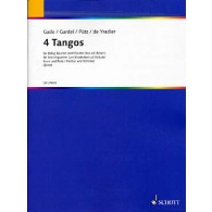 GADE/GARDEL/PUTZ/DE YRADIER 4 TANGOS STRING QUARTET