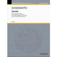 HINDEMITH P. SONATE COR ALTO/SAXO ALTO
