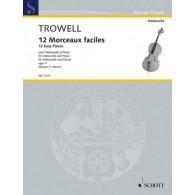 TROWELL A. MORCEAUX FACILES VOL 2 VIOLONCELLE