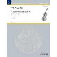 TROWELL A. MORCEAUX FACILES VOL 4 VIOLONCELLE