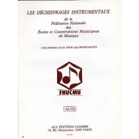 FFEM DECHIFFRAGES INSTRUMENTAUX POUR L'ALTO
