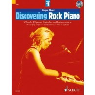 MOSER J. DISCOVERING ROCK VOL 1 PIANO