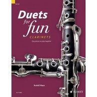 DUETS FOR FUN CLARINETTES