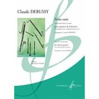 DEBUSSY C. PETITE SUITE 4 CLARINETTES