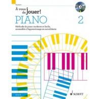HEUMANN H.G. A VOUS DE JOUER! VOL 2 PIANO