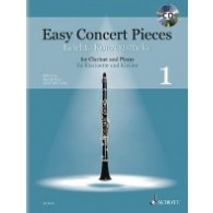 EASY CONCERT PIECES VOL 1 CLARINETTE