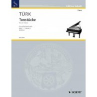 TUERK D.G. LITTLE PIECES VOL 1 PIANO 4 MAINS