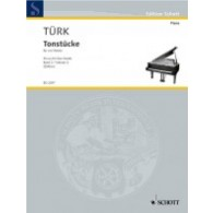 TUERK D.G. LITTLE PIECES VOL 2 PIANO 4 MAINS