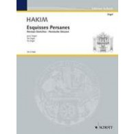 HAKIM N. ESQUISSES PERSANES ORGUE