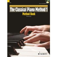 HEUMANN H.G. CLASSICAL PIANO METHOD BOOK  1