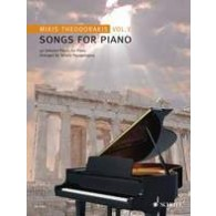 THEODORAKIS M. SONGS FOR PIANO