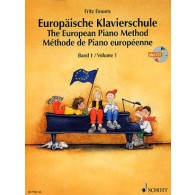 EMONTS F. METHODE DE PIANO EUROPEENNE VOL 1 + CD