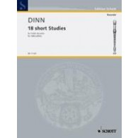 DINN F. SHORT STUDIES FLUTE A BEC