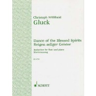 GLUCK C. DANCE OF THE BLESSED SPIRITS FLUTE