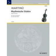 MARTINU B. RHYTHMISCHE ETUDEN VIOLON