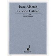 ALBENIZ I. CANCION CATALAN VIOLON